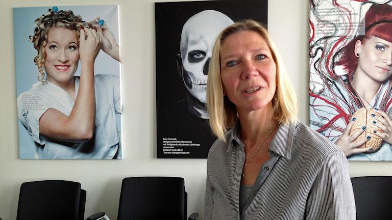 Ulla Jordan. Foto: Johanna Iggsten/Sveriges Radio.