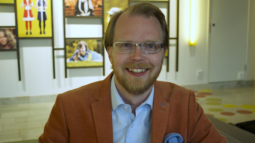 Niklas Frykman. Foto: Emma Stark/Sveriges Radio.
