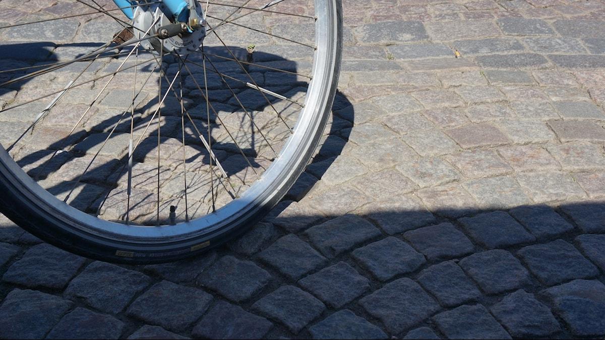 Cykel. Foto: Katarina Larsson/Sveriges Radio.