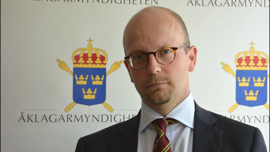 Henrik Olin. Foto: Petra Levinson/Sveriges Radio.