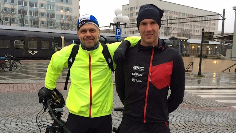 Andreas Dahlqvist och Mikael Kjellander