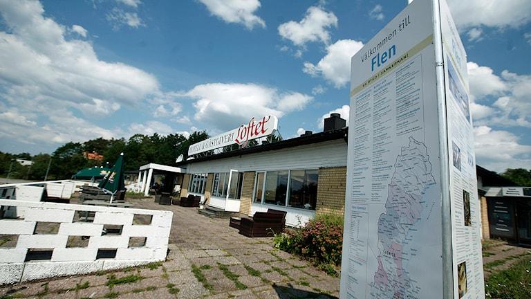 Hotell Loftet i Flen. Foto: Jacob Hansson/Sveriges Radio