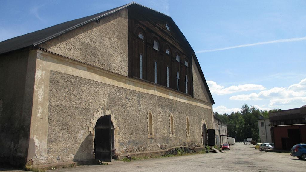 Kolhusteatern i Hälleforsnäs. Foto: Emma Stark/Sveriges Radio.