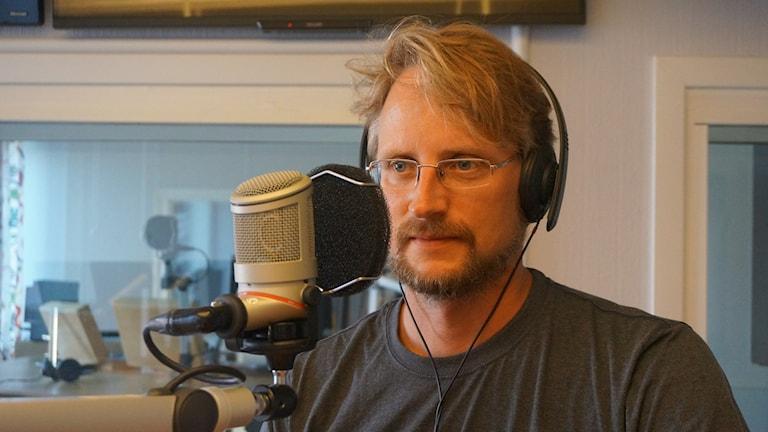 Jonas Lindeberg. Foto: Katarina Larsson/Sveriges Radio.
