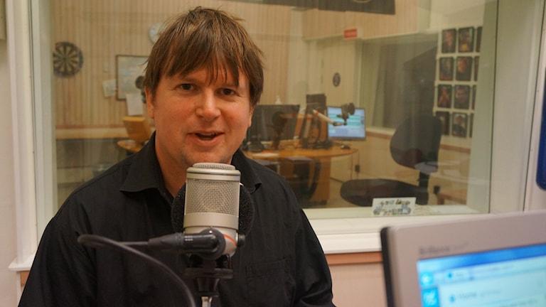 Joakim Johansson. Foto: Katarina Larsson/Sveriges Radio.