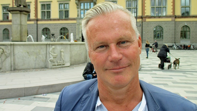 Hans Ekström. Foto: Michael Berwick/Sveriges Radio.