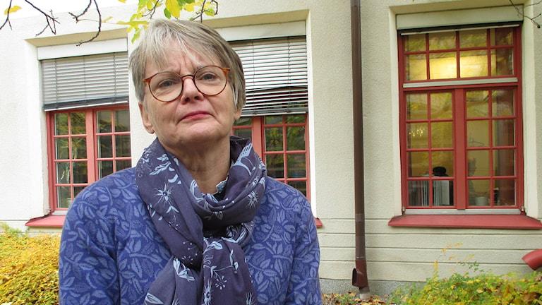 Kerstin Eriksson. Foto: Ingela Martinsgård/Sveriges Radio.