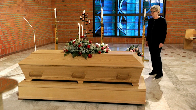 Begravning. Foto: Janerik Henriksson/TT.