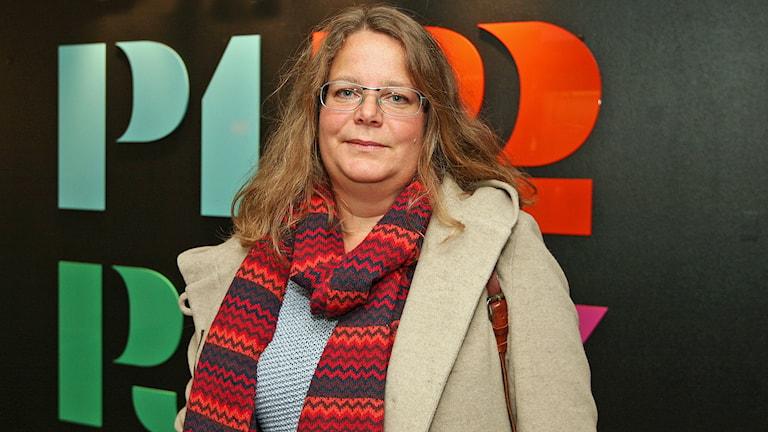 Anette Strömberg, forskare.  Foto: Jacob Hansson/Sveriges Radio