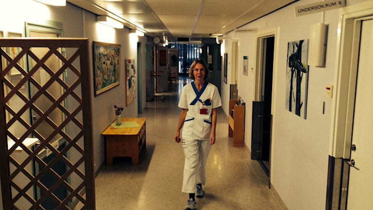 Maria Remén, infektionsläkare. Foto: Reino Helin/Sveriges Radio.