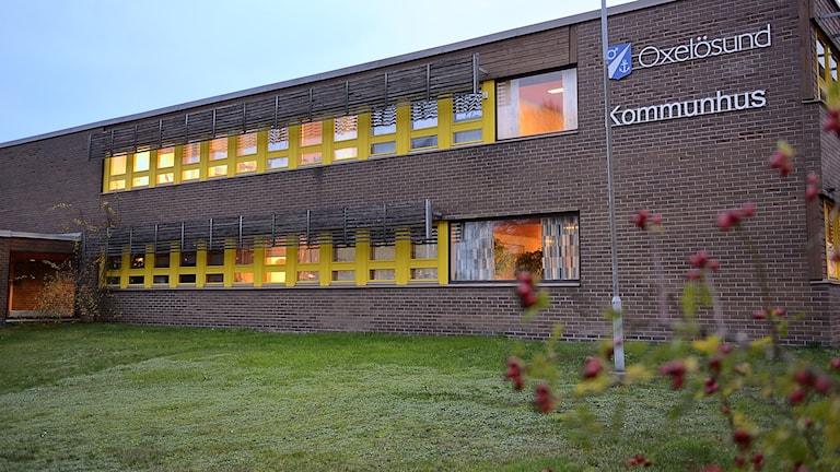 Kommunhuset i Oxelösund. Foto: Per Thyrén/Sveriges Radio.