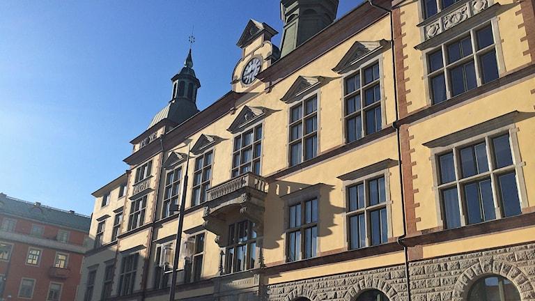Stadshuset i Eskilstuna. Foto: Fredrik Blomberg/Sveriges Radio.