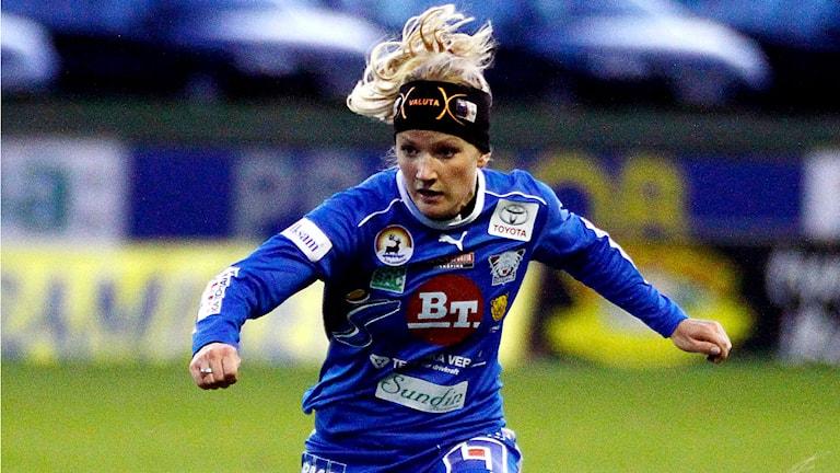 Petra Larsson. Foto: Stefan Jerrevång/TT