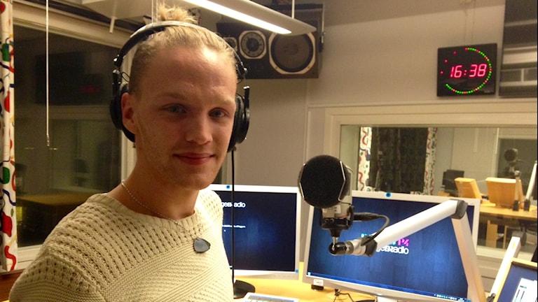 Adam Johansson. Foto: Katarina Larsson/Sveriges Radio.