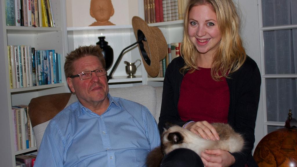 Mats och Therese. Foto: Kerstin Svenson.