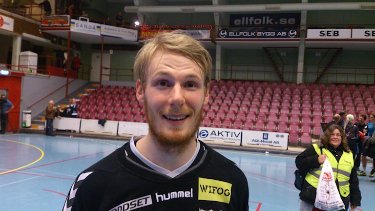 Aron Rafn Edvardsson. Foto: Josefin Lundin/Sveriges Radio.