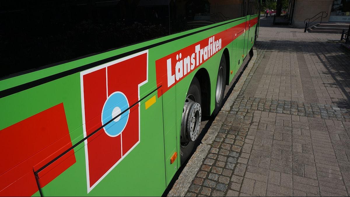 Buss. Foto: Katarina Larsson/Sveriges Radio.