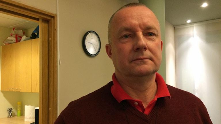Bengt Karlsson. Foto: Fredrik Lorenzoni/Sveriges Radio.