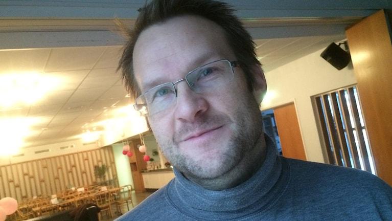 Fredrik Olsson. Foto: Fredrik Lorenzoni/Sveriges Radio.