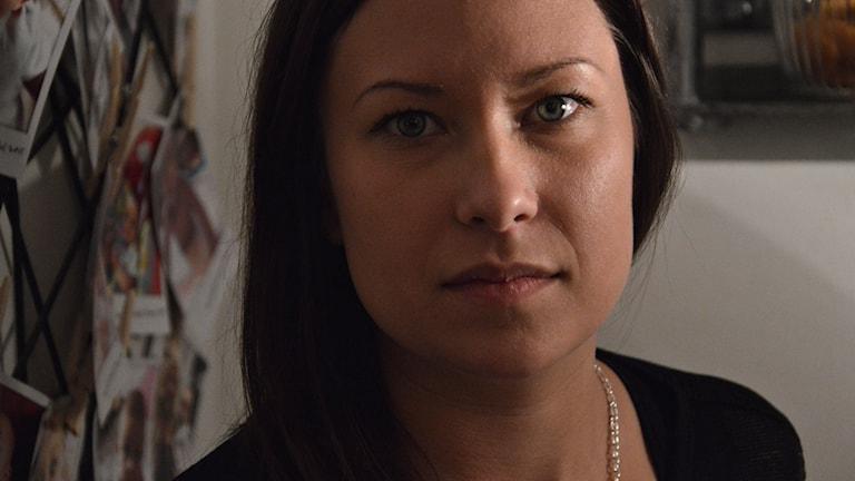 Lina Lindfyr. Foto: Petra Levinson/Sveriges Radio.