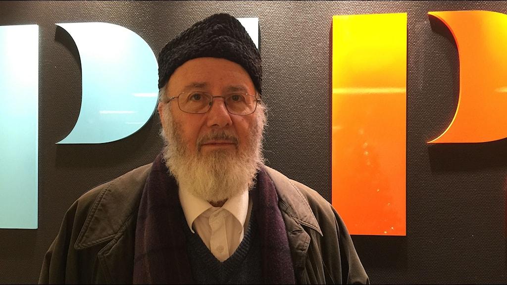 Abd al Haqq Kielan är imam i Eskilstuna. Foto: Carin Vidner/Sveriges Radio.