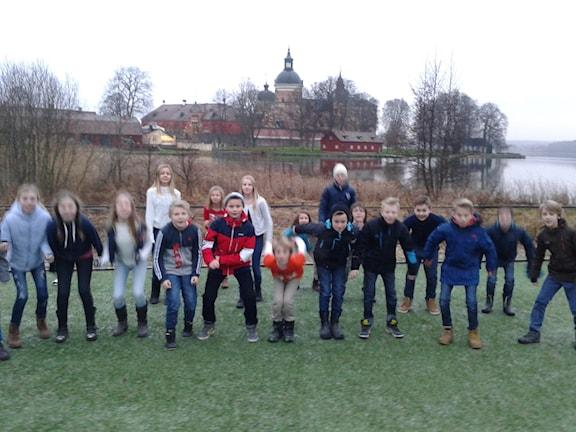 Gripsholmsskolan klass 5B.