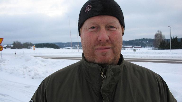 Lars Nordqvist. Foto: Katarina Wahlström/Sveriges Radio.