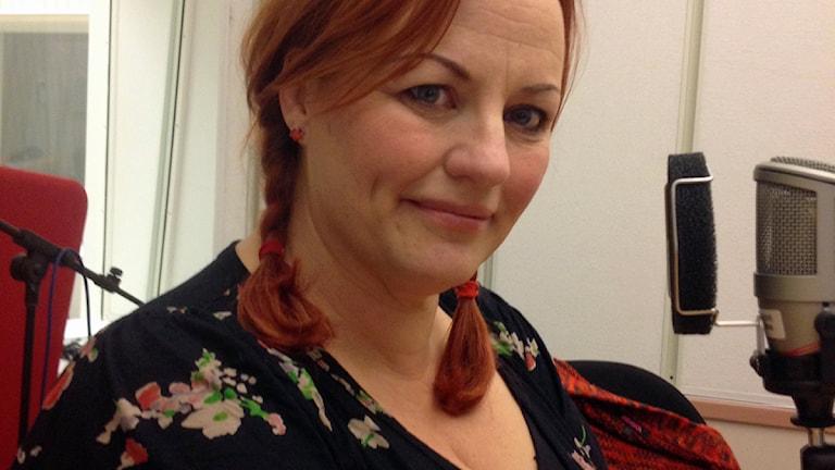 Cecilia Ringkvist. Foto: Susanne Lindkvist Eriksson/Sveriges Radio.