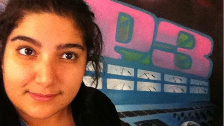 Tv-serieexperten Melody Lovelin, från PP3 i P3. Foto: Melody Lovelin/Sveriges Radio.