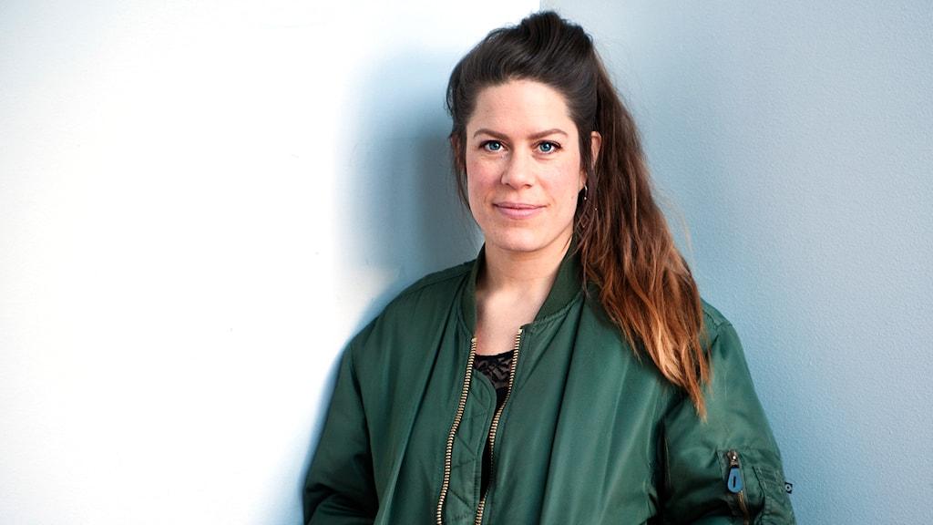 Anna Persson, en av regissörerna till filmen Förvaret. Foto: Shaon Chakraborty, ur filmen Förvaret.