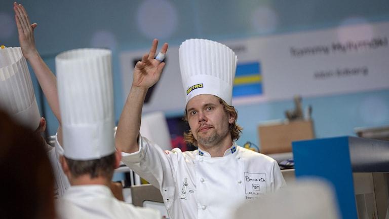 Tommy Myllymäki. Foto: Per Larsson/TT.