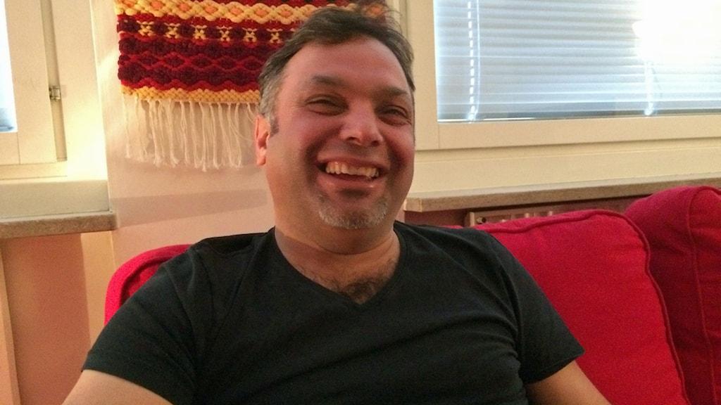 Dawod Mohammad. Foto: Fredrik Lorenzoni/Sveriges Radio.
