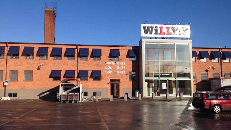 Willys i Eskilstuna. Foto: Lisa Wadin.