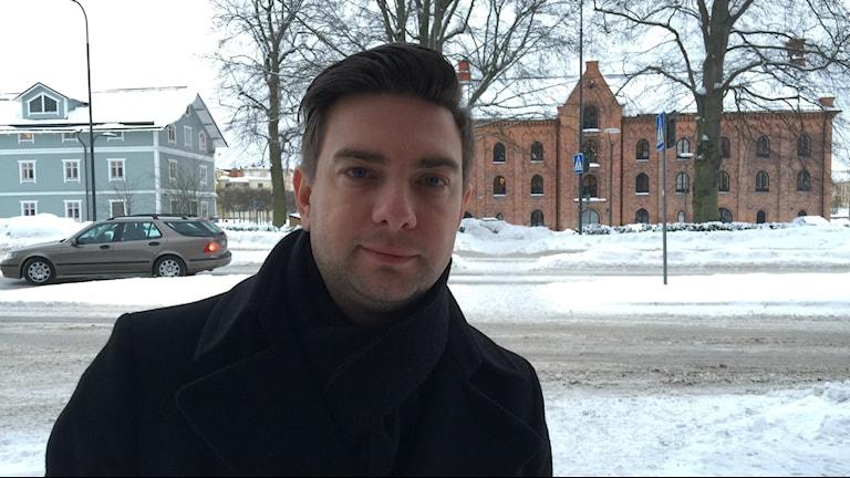 Jimmy Jansson. Foto: Carin Vidner/Sveriges Radio.