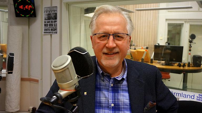 Pär Eriksson. Foto: Katarina Larsson/Sveriges Radio.