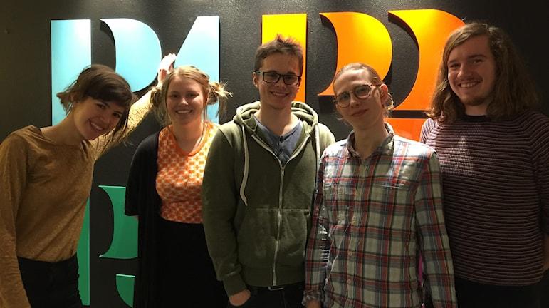 HerrMadame. Foto: Carin Vidner/Sveriges Radio.