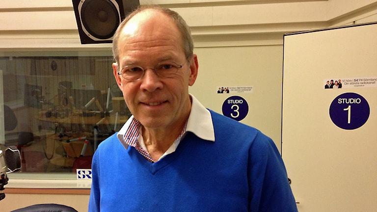 Inge Blomberg. Foto: Jonas Carnesten/Sveriges Radio.