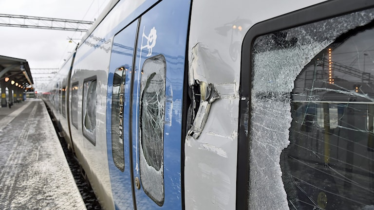 Tåget på Gnestapendeln. Foto: Pontus Lundahl/TT.