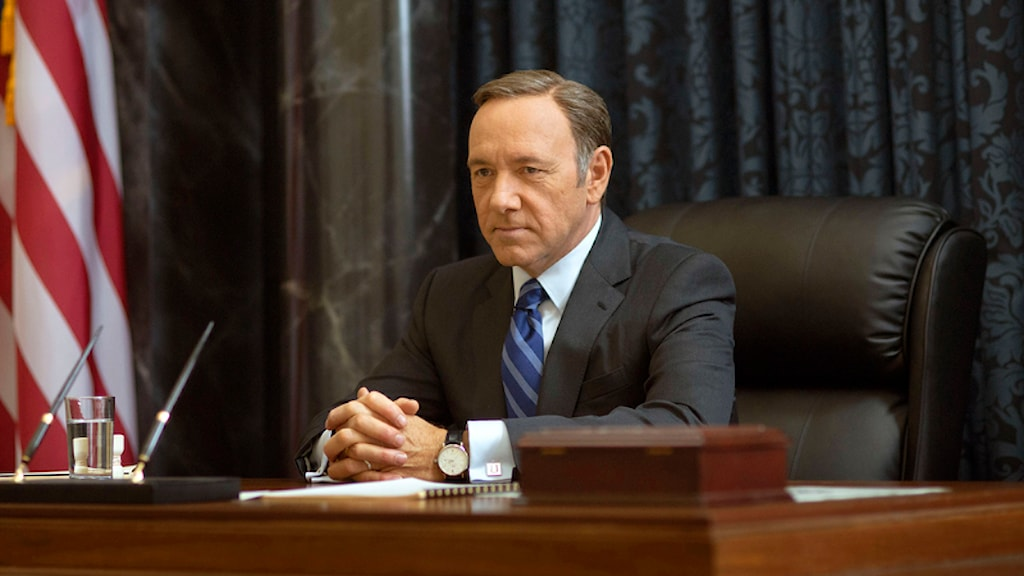 Kevin Spacey i House of Cards. Foto: Nathaniel E. Bell/Netflix/TT.