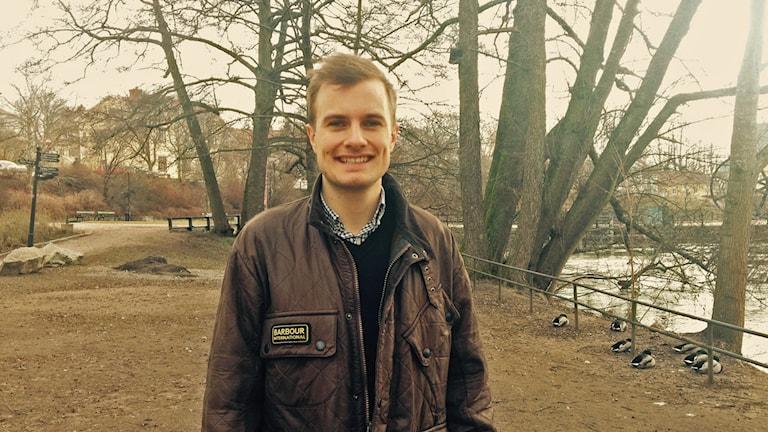 Henrik Hoffman från Nyköping har skapat systemet Vilth. Foto: Privat