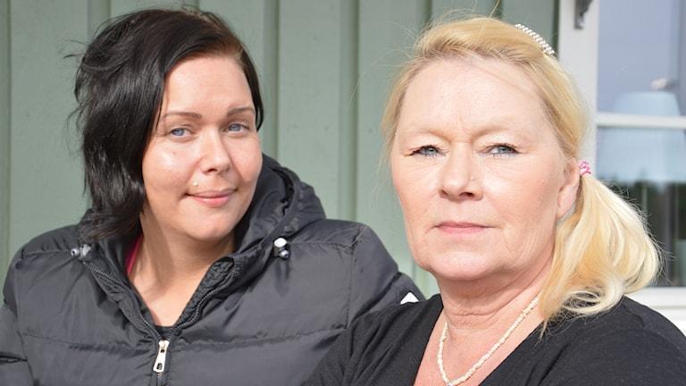 Sophie Alväng och Solveig Zdini. Foto: Petra Levinson/Sveriges Radio.