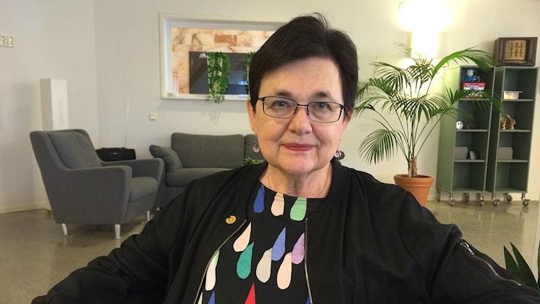 Eva Sundgren. Foto: Petra Levinson/Sveriges Radio.