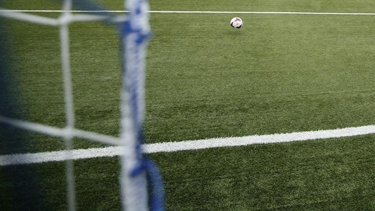 Fotboll. Foto: Jacob Hansson/Sveriges Radio.