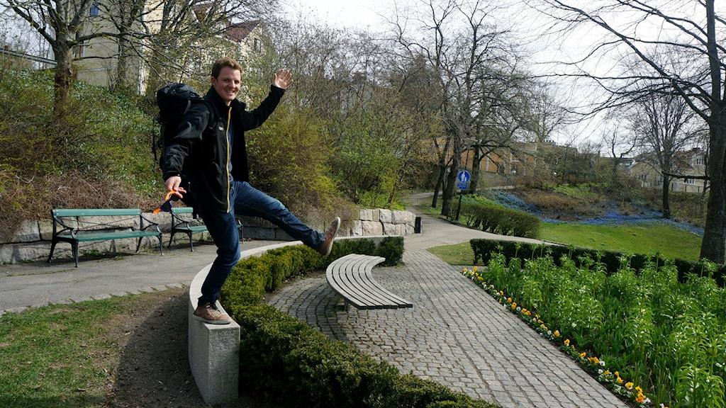 Patrik Enlund. Foto: Katarina Larsson/Sveriges Radio.