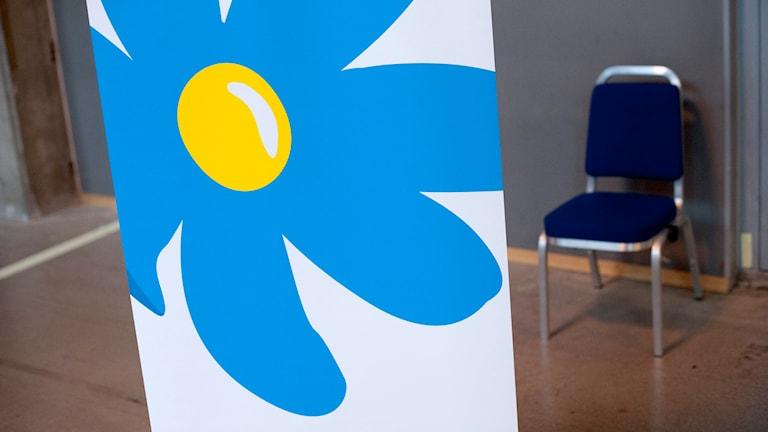 Sverigedemokraternas logga. Foto: Björn Larsson Rosvall/TT.