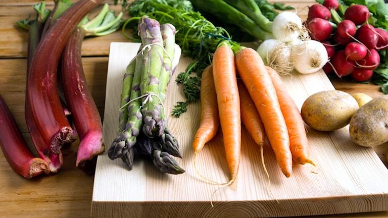 Grönsaker. Foto: Malin Randeniye.