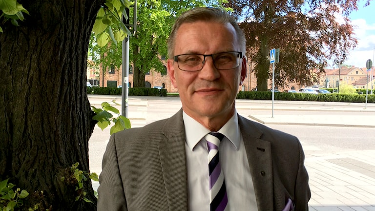 Ulf Lernéus. Foto: Evelina Crabb/Sveriges Radio.