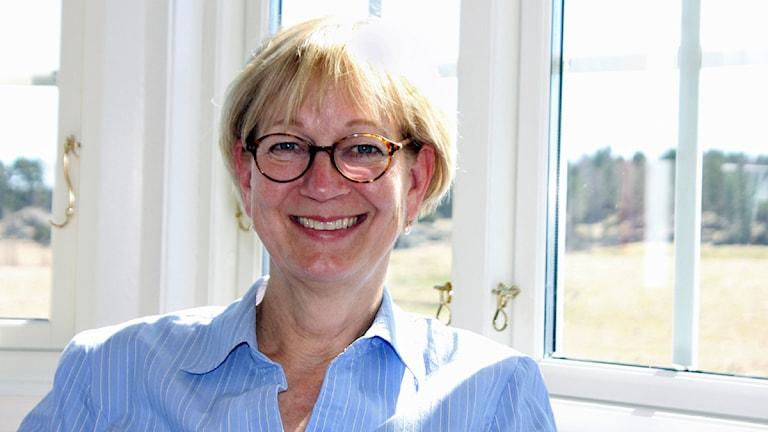 Liselotte Hagberg. Foto: Kerstin Svenson.