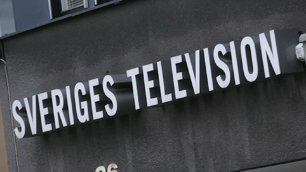Sveriges Television. Foto: Fredrik Sandberg/TT.