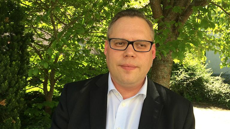 Daniel Portnoff. Foto: Petra Levinson/Sveriges Radio.